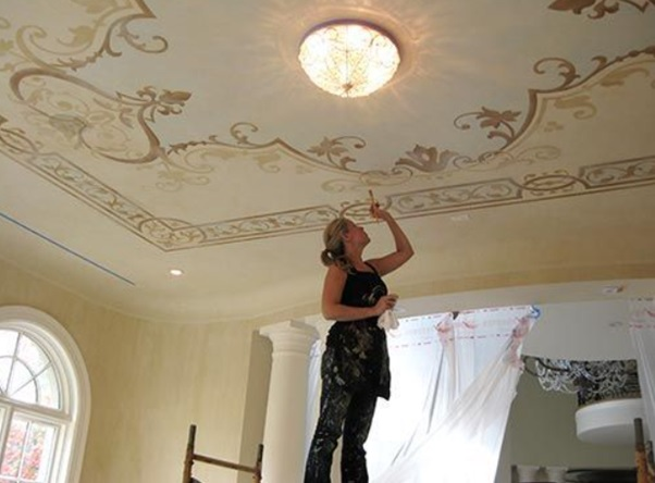 Ceiling Painting – Choose the Perfect Paint Colour for Your Ceiling